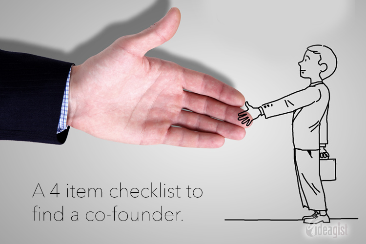 Do you need a Co-Founder? A 4 item checklist.