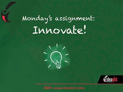 innovation Monday