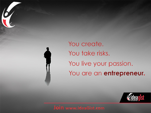 you are an entrepreneur blog