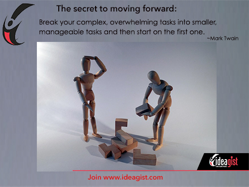 The secret to managing tasks so you can move forward