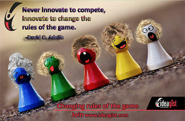 Innovation should be the game changer