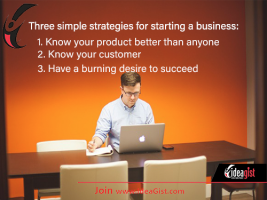 3 Simple Strategies for Starting a Business