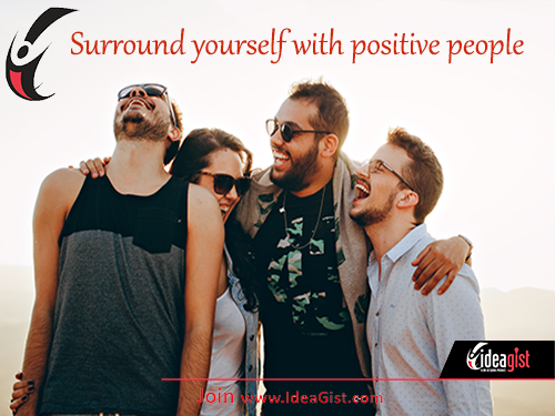 Key to entrepreneurial success: surround yourself with positive people