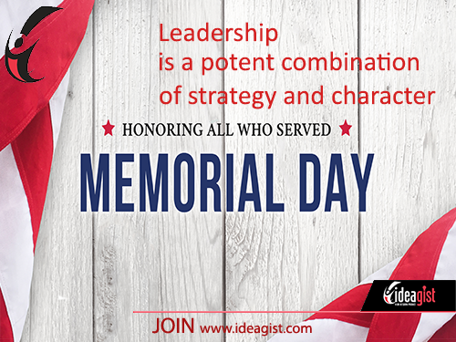 Entrepreneurs and startup leaders can lead by example on Memorial Day