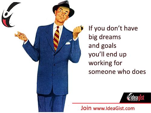 Dream big every day