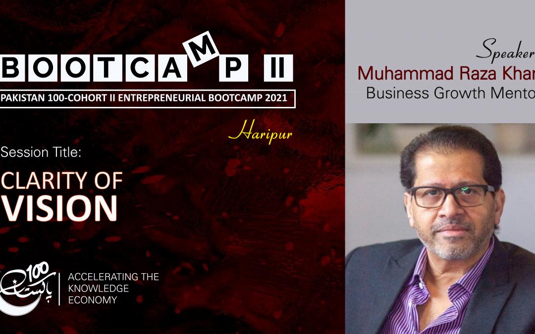 Bootcamp Speaker-Raza Khan