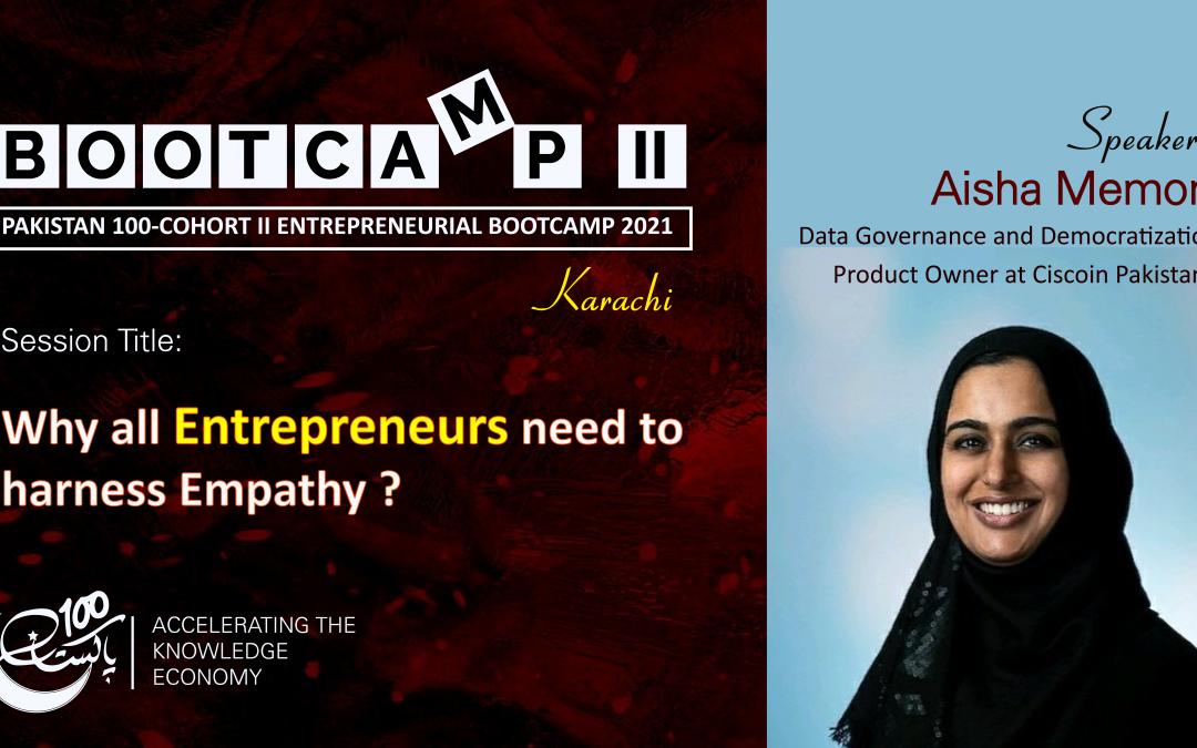 Bootcamp Speaker-Aisha Memon